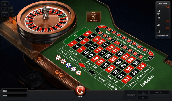 Roulette Demo Game