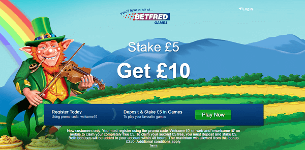 Play Betfred Rainbow Riches