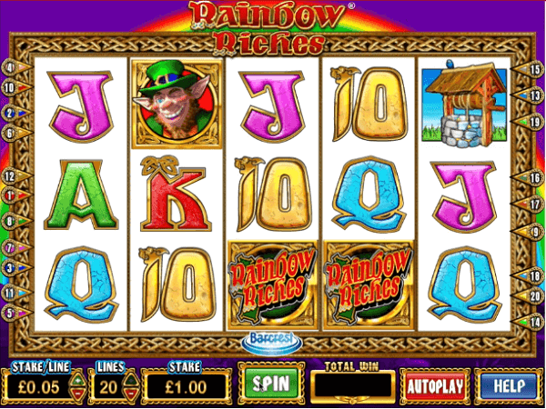 Play Ladbrokes Rainbow Riches