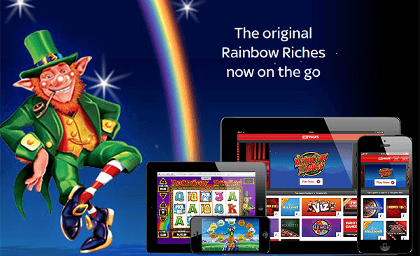 Play Rainbow Riches for Mobile