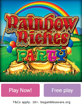 Play Rainbow Riches Party Slot