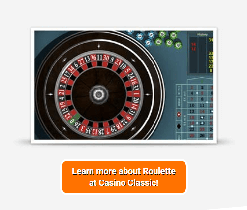 Play roulette at the Casino Classic
