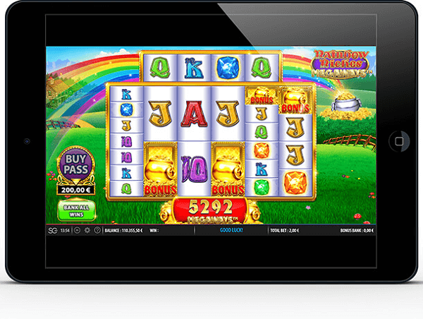 Rainbow Riches Free Play App