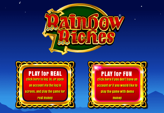 Rainbow Riches Free Play in UK