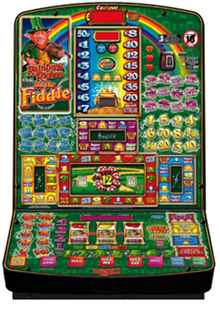 Rainbow Riches on the Fiddle Slot Machine