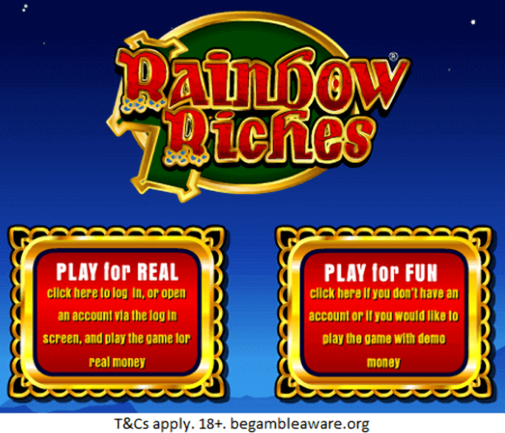 Play Rainbow Riches Now!
