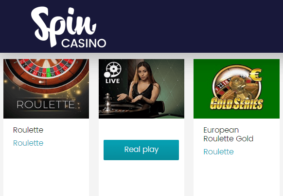 Spincasino Play Roulette