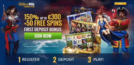 William Hill Rainbow Riches Bonus