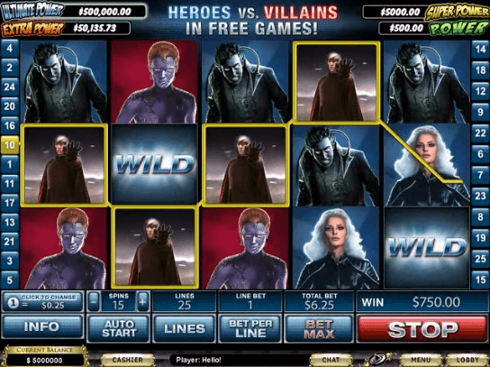 X-Men Mobile Slot UK
